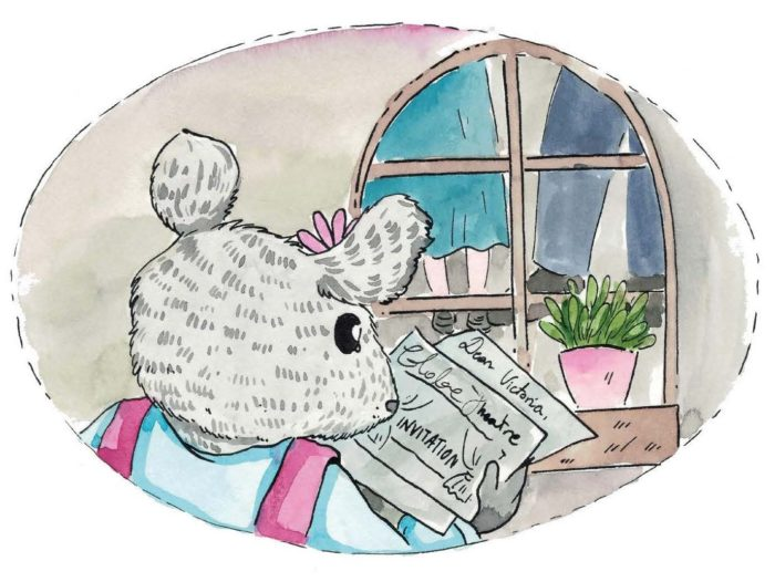 Victoria Mouse reading